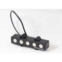 Delano JMVC5 FE 5 String Jazz S Size Split Coil Neck Pickup