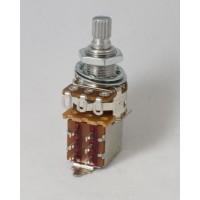 Alpha 25k Volume Potentiometer Audio Taper Push/Pull 6mm Split Shaft Solderless
