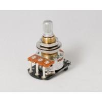 EMG 25k Volume Potentiometer Audio Taper 6mm Split Shaft Solderless