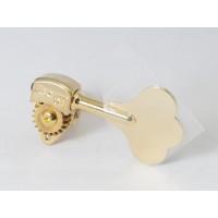 "Hipshot Ultralite Tuner HB6C 3/8"" Gold Bass Side"