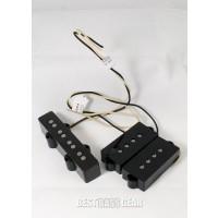 Lindy Fralin 5% Overwind Split Coil Bridge 4 String P/J Size Set