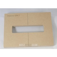 """Mike Plyler 1/2"""" Thick MDF Delano SBC7 Size Template"""