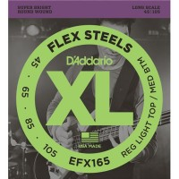 Daddario FlexSteels Series - EFX165 4 String Set