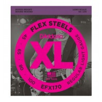 Daddario FlexSteels Series - EFX170 4 String Set