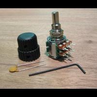 EMG 25k Volume/Tone Potentiometer Audio Taper 6/8mm Solid Shaft