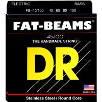 DR Strings 4 String Fat Beams FB-45/100 Medium-Lite