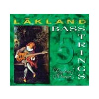 Lakland Custom Wound Formula G Stainless Roundwound 5 String Light (40 - 60 - 80 - 100 - 128) Long Scale
