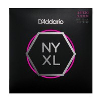 Daddario NYXL45130 5 String Regular Light (45 - 65 - 80 - 100 - 130) Long Scale