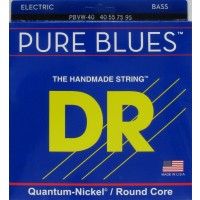 DR PBVW-40 Pure Blues 4 String Victor Wooten Signature (40 - 55 - 75 - 95) Long Scale