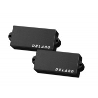 Delano PC4 HE/M2 (White) 4 String Precision Size Split Coil Pickup