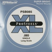 Daddario PSB085 ProSteels Single String 85 Gauge Long Scale