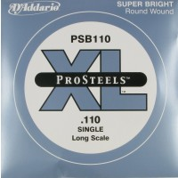 Daddario PSB110 ProSteels Single String 110 Gauge Long Scale