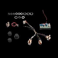 Seymour Duncan STC-3M3 1-Pickup 3-Knob 3-Band Vol P/P Slap Sw - Treb/Bass Stack - Mid