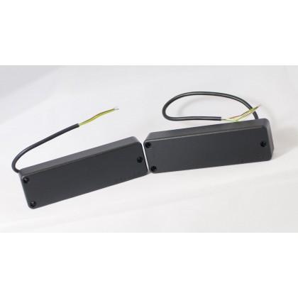 Delano SBC5 HE/S Driver (P2 Shape) 5 String Soapbar Bass Pickup Set