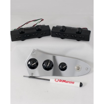 DiMarzio DP123BK w/Control Plate
