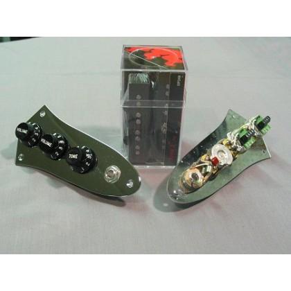 DiMarzio DP249-BK w/Control Plate