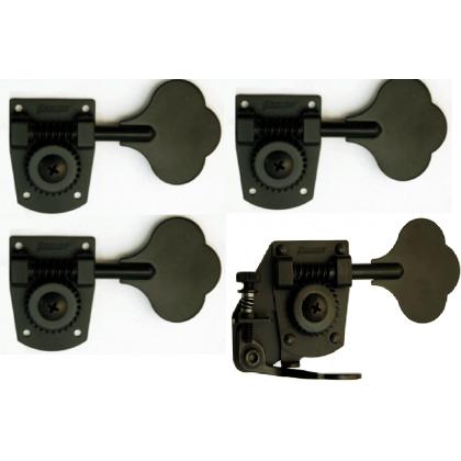 4-String HB7 & BT7 Tuner/De-tuner Bass Side Black Set