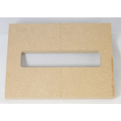 """Mike Plyler 1/2"""" Thick MDF Delano SBC8 Size Template"""