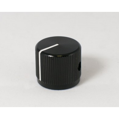 Large Black Aluminum Knob