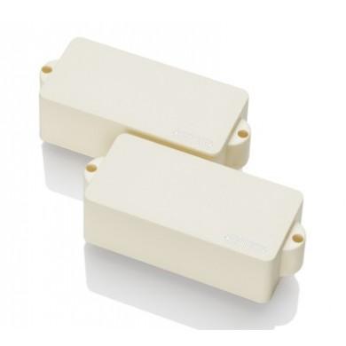 EMG P 4 String Precision Size Split Coil Pickup (Ivory)