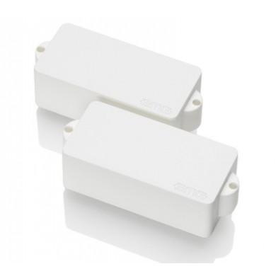 EMG P 4 String Precision Size Split Coil Pickup (White)