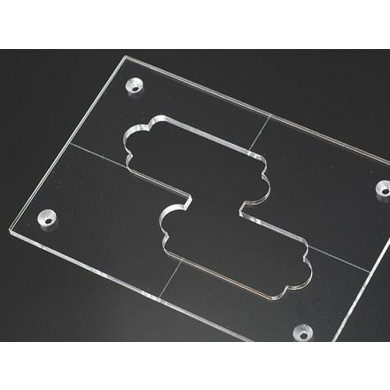 Acrylic Pickup Routing Template -P-bass/ NP4 / NP5