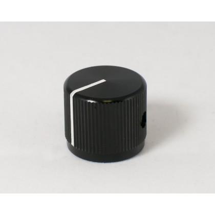 Large Black Aluminum Knob