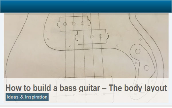 How to Build a Bass Guitar