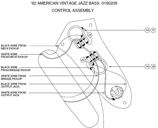 P J Bass Wiring Diagram from www.bestbassgear.com
