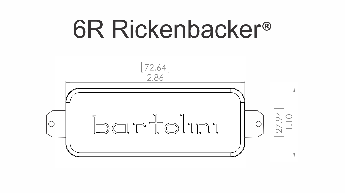 Bartolini 6rc  U0026 6rt Rickenbacker Pickup Set