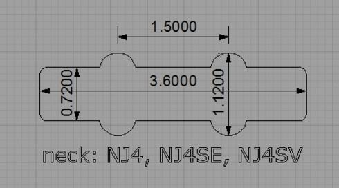 Nordstrand Pickups NJ4 Set Best Bass Gear