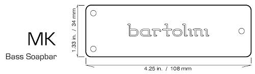 Bartolini Mk5cbc Bass Pickups