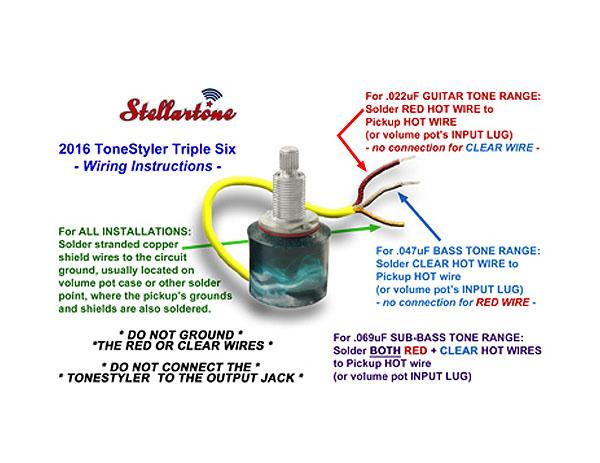 Stellartone - Tonestyler Triple Six