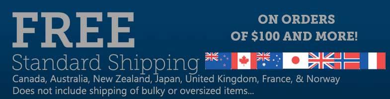 International Shipping Banner