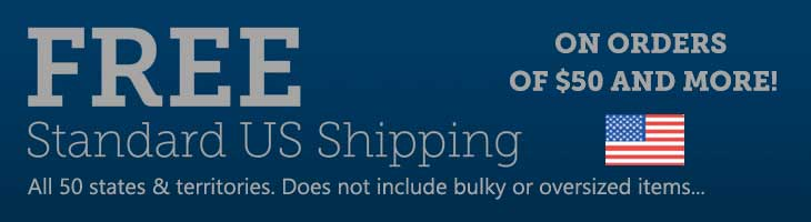 US Shipping Banner
